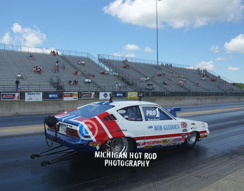 "This is an 8 x 10"" Color Photo of the  Bob Glidden Pro Stock Tribute Hot Rod"