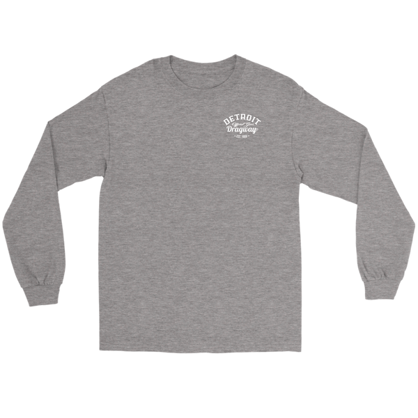 Detroit Dragway® Sunday-Sunday ver 2 Long Sleeve Sleeve T-Shirt