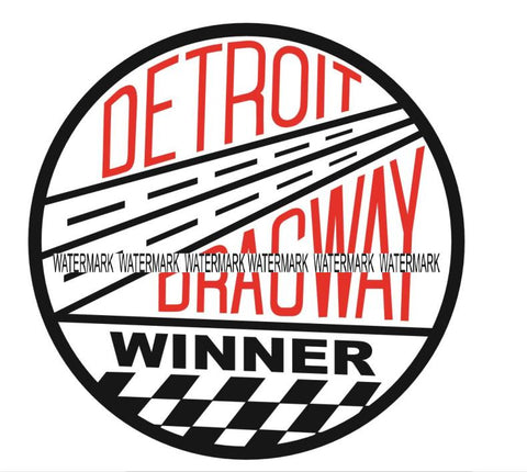 Detroit Dragway Winner Decal/Sticker