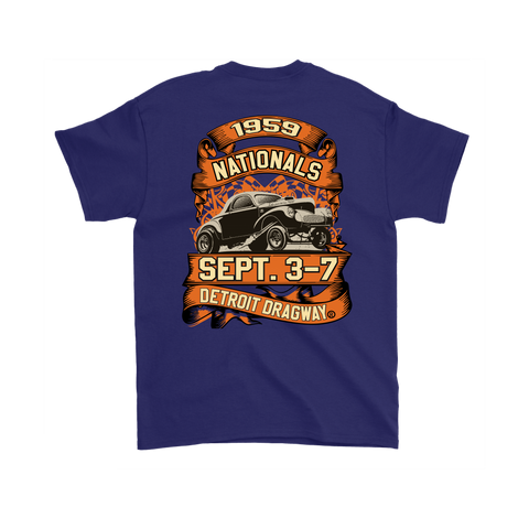 Detroit Dragway® 1959 Nationals Short Sleeve T-Shirt