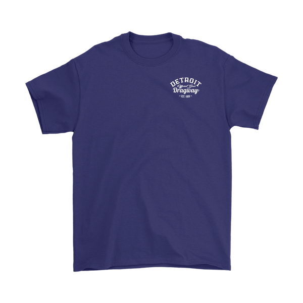 Detroit Dragway® Staging Tree Short Sleeve Shirt