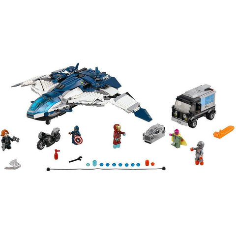 Avengers Quinjet City Chase