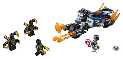 Avengers Captain America: Outriders Attack