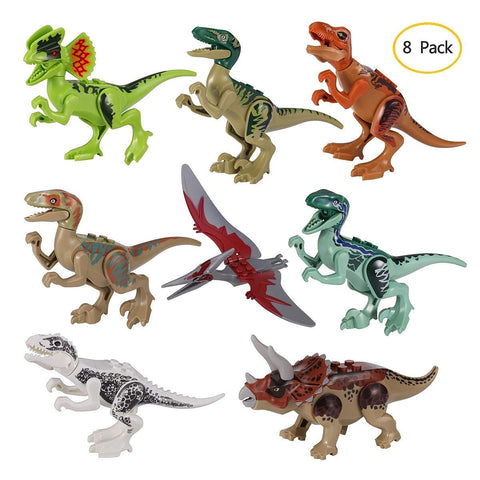 Jurassic World 8pcs/lot Dinosaurs