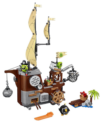 Angry Birds Piggy Pirate Ship