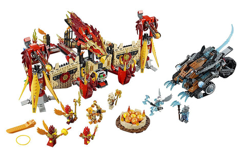 Chima Flying Phoenix Fire Temple