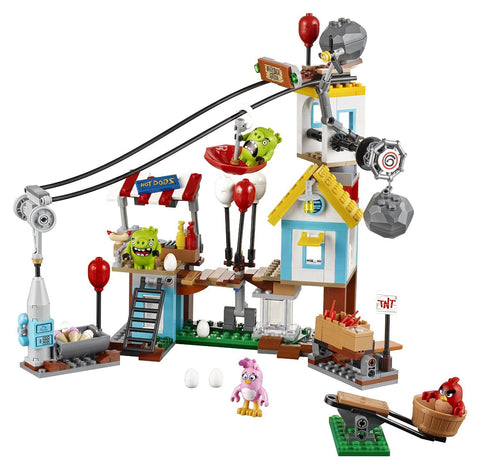 Angry Birds Pig City Teardown