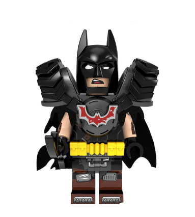 Tire Armor Batman Minifigure