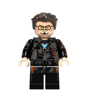 Tony Stark Minifigure