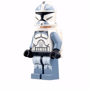Clone Trooper Wolf Pack Phase 2 Minifigure