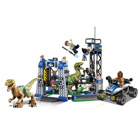 Jurassic World Raptor Escape