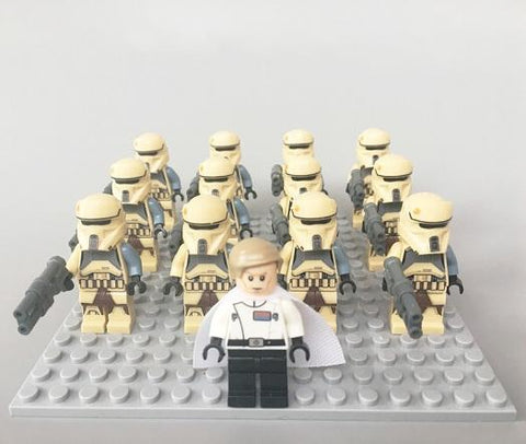 Star Wars 13pcs/lot Shore Troopers