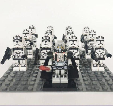 Star Wars 13pcs/lot Wolf Pack Clone Troopers