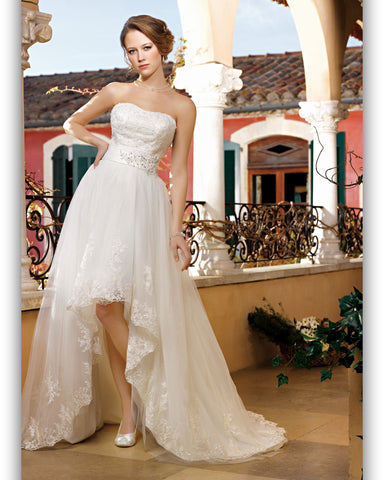 Robe de Mariée Miss Kelly Princesse Satin Tulle Dentelle
