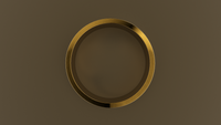Brushed Yellow Gold 8mm Flat Wedding Band