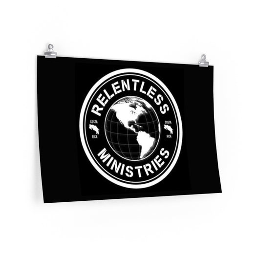 Relentless Ministries Poster