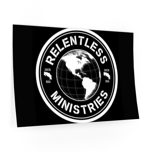 Relentless Ministries Costa Rica Wall Decal