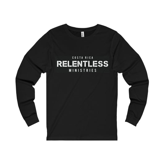Relentless Ministries Men's Jersey Long Sleeve Tee