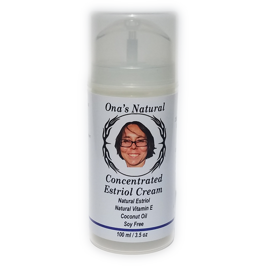 *NEW* Ona's Natural Estriol Cream -Concentrated - 3.5 oz Pump
