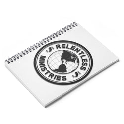 Relentless Ministries Spiral Notebook - Ruled Line