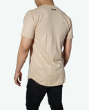 JSUR Essential Beige Scoop T-Shirt - JSUR