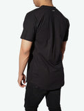 JSUR Essential Black Scoop T-Shirt - JSUR