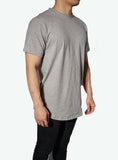 JSUR Essential Gray Scoop T-Shirt - JSUR