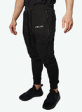 Men's Tactical Joggers (Black) - JSUR