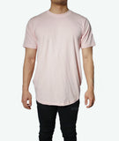 JSUR Essential Pink Scoop T-Shirt - JSUR