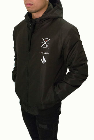 JSUR TECH JACKET (BLACK) V1