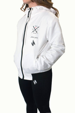 JSUR TECH JACKET (WHITE) V1 - JSUR