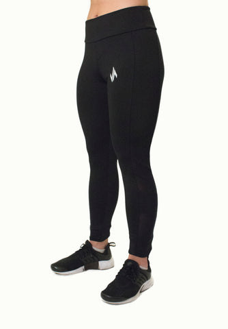 JSUR ATHLETIC CORE LEGGINGS (BLACK)