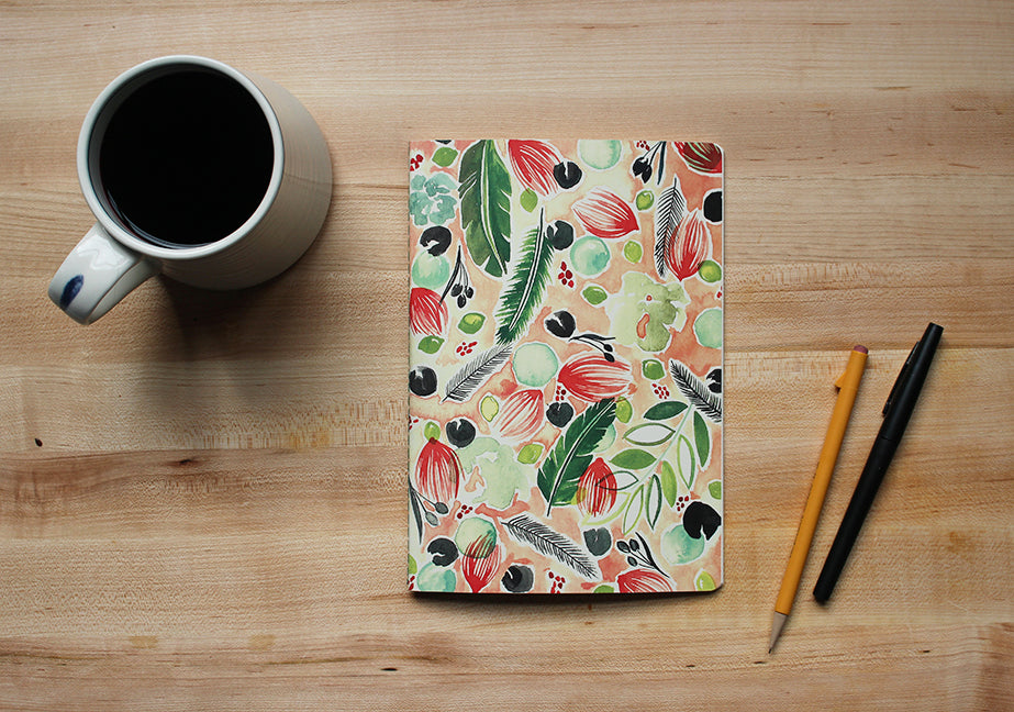 florida floral notebook
