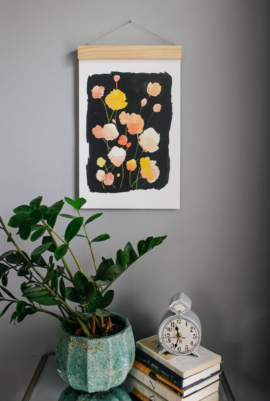 full bloom art print