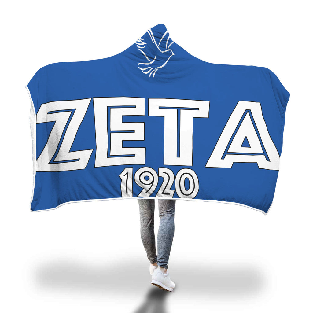 Zeta Hooded Blanket