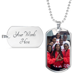 Custom Dog Tags- Upload Your Own Photo!