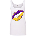 Purple and Gold Women's Tank Top