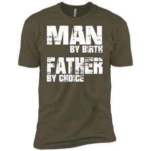 Father By Choice Premium Short Sleeve T-Shirt