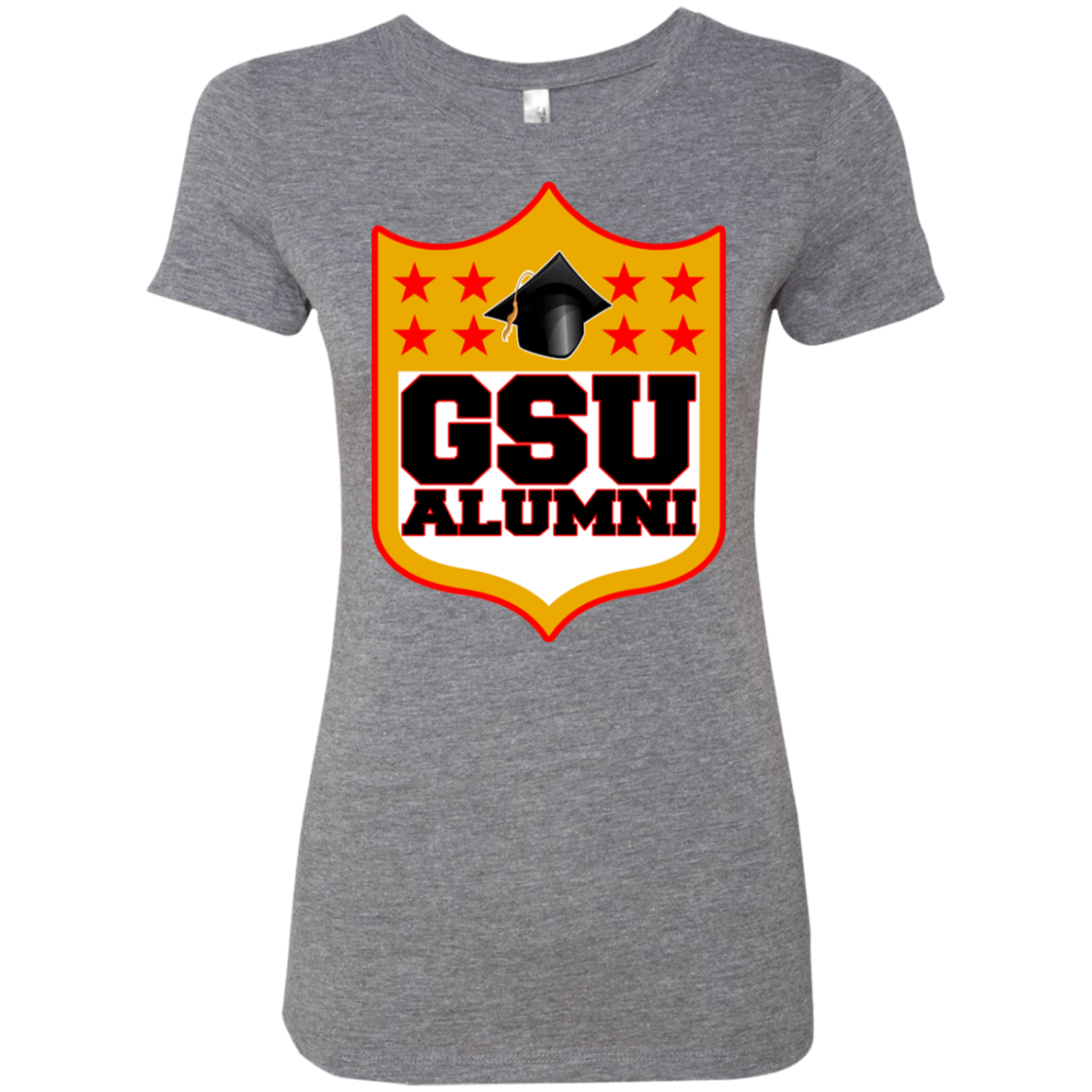 GSU Shield Ladies' Triblend T-Shirt Very