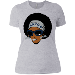 Xavier Afro Slim Fit Ladies' Boyfriend T-Shirt