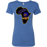 African Sgrho Ladies' Triblend T-Shirt Very