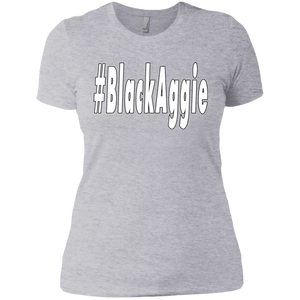 Black Aggie Ladies Slim Fit