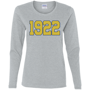 Greek Year 1922 LS T-Shirt