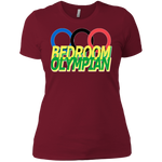 Bedroom Olympian Ladies' Boyfriend T-Shirt