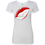 Delta Lips Ladies' Triblend T-Shirt