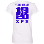 Zeta Phi Beta Custom V-Neck Tee