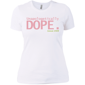 Dope AKA Ladies' Boyfriend T-Shirt -SLIM FIT