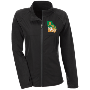 Team 365 Ladies' Microfleece with Front Polyester Overlay