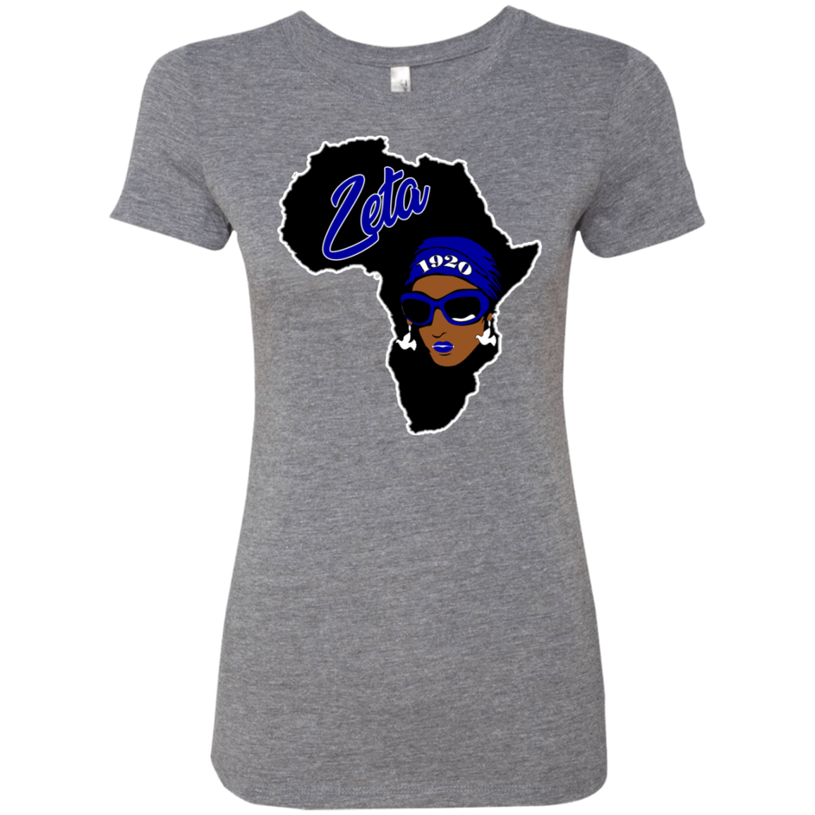 African Zeta Ladies' Triblend T-Shirt Very