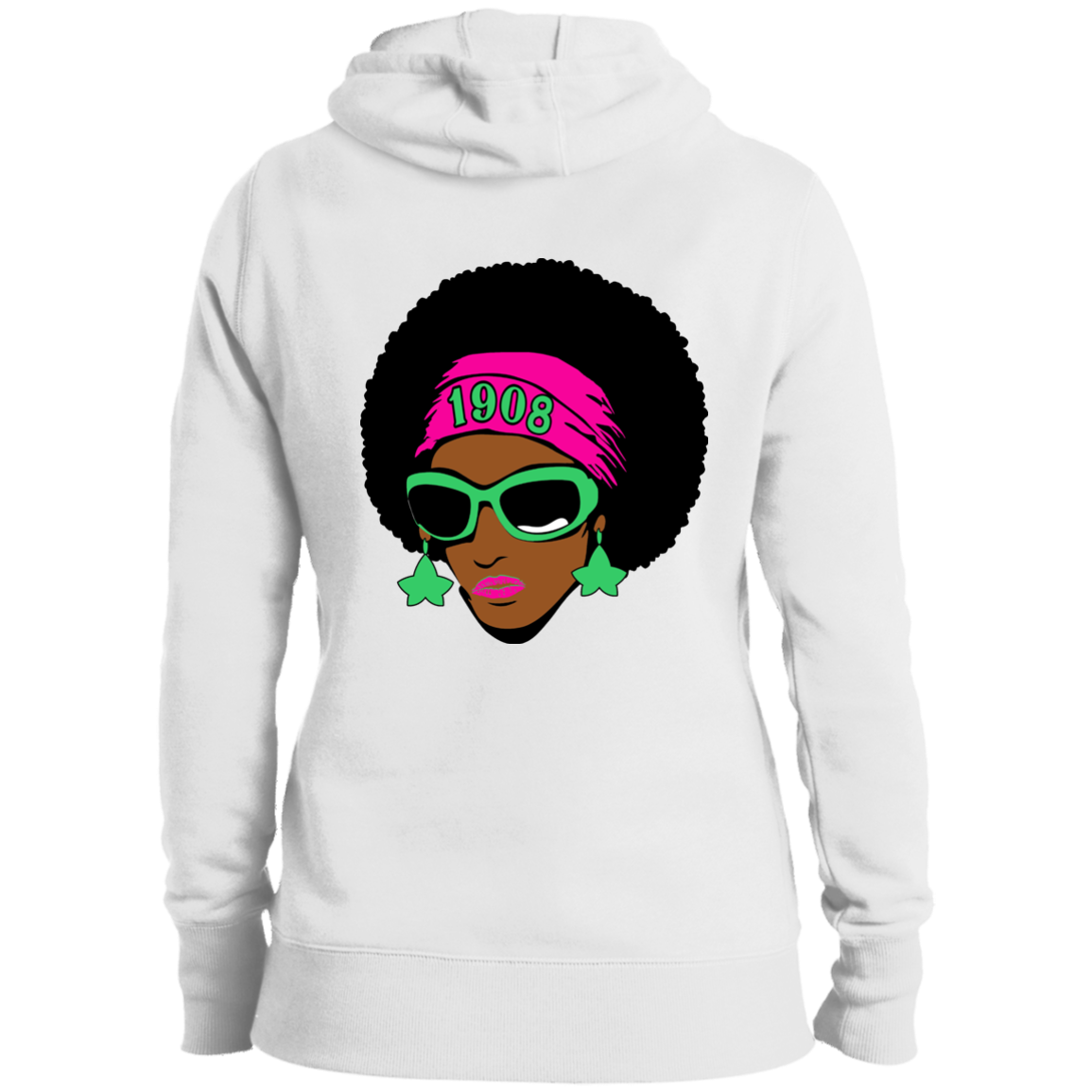 AKA Custom Afro Hoodies